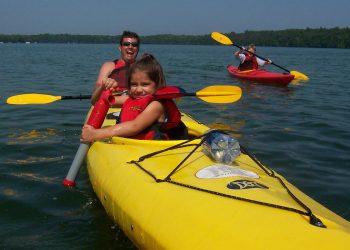 Door County Kayak Tour for families