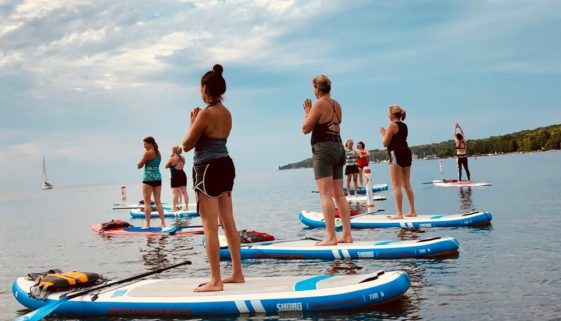 Door County SUP Yoga