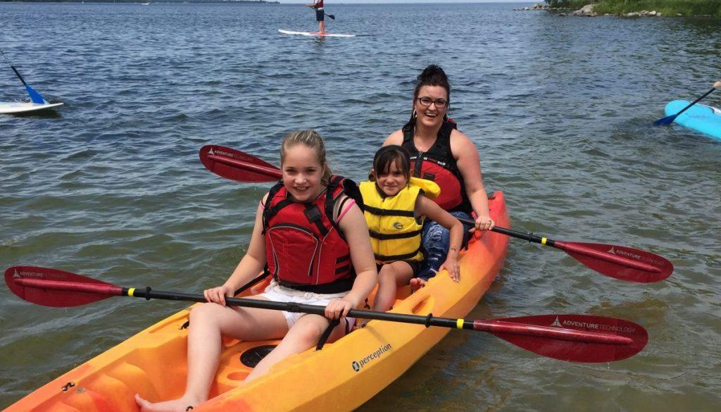 Door County Family Kayaking Tour