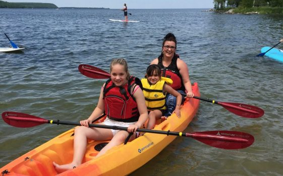 Door County Family Kayaking Tour