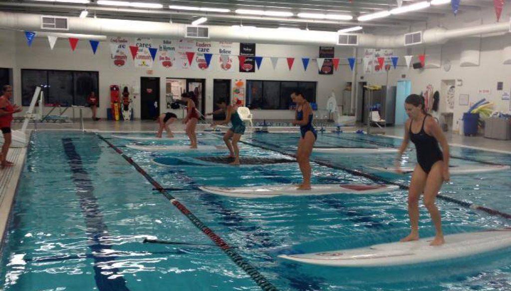 Door County Indoor Stand Up Paddle Boar Classes