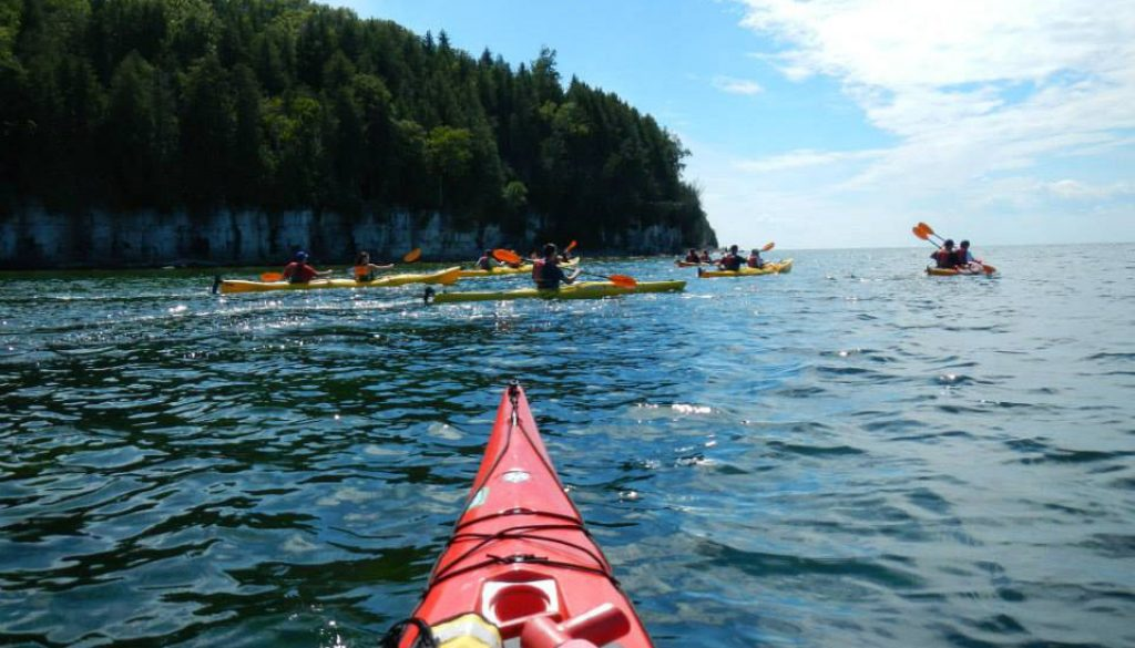 Tandem Kayaking Group