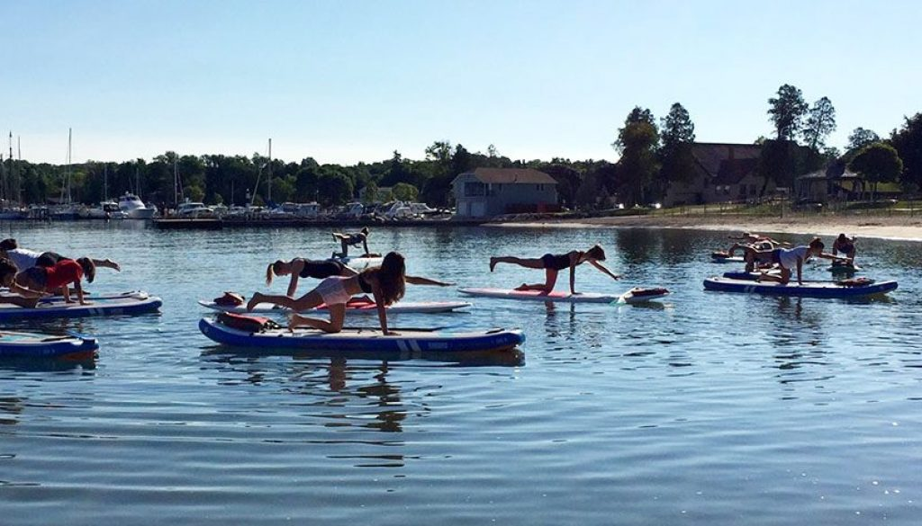 Stand Up Paddle Board Yoga Classes